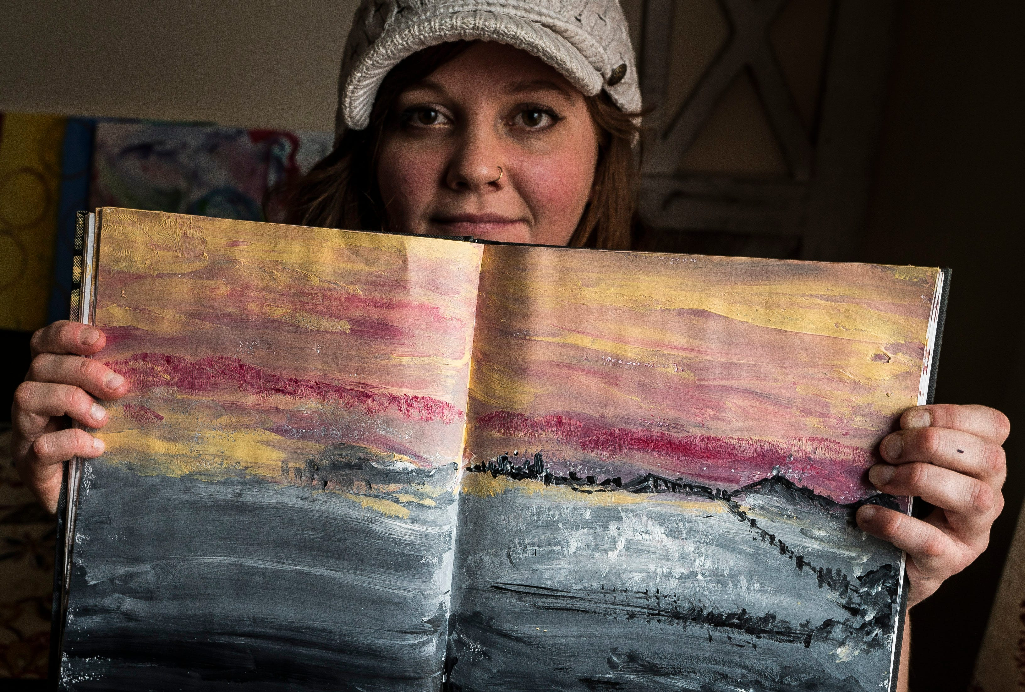 Melissa Cohen's art work, and the art she helps other women in recovery create, is much more than paint on canvas or a photograph or a sketch. It's a conduit through which Cohen reconnects to life after drug addiction cut those connections.