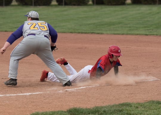 Unioto defeated Zane Trace Wednesday night 8-3 at Unioto High School.