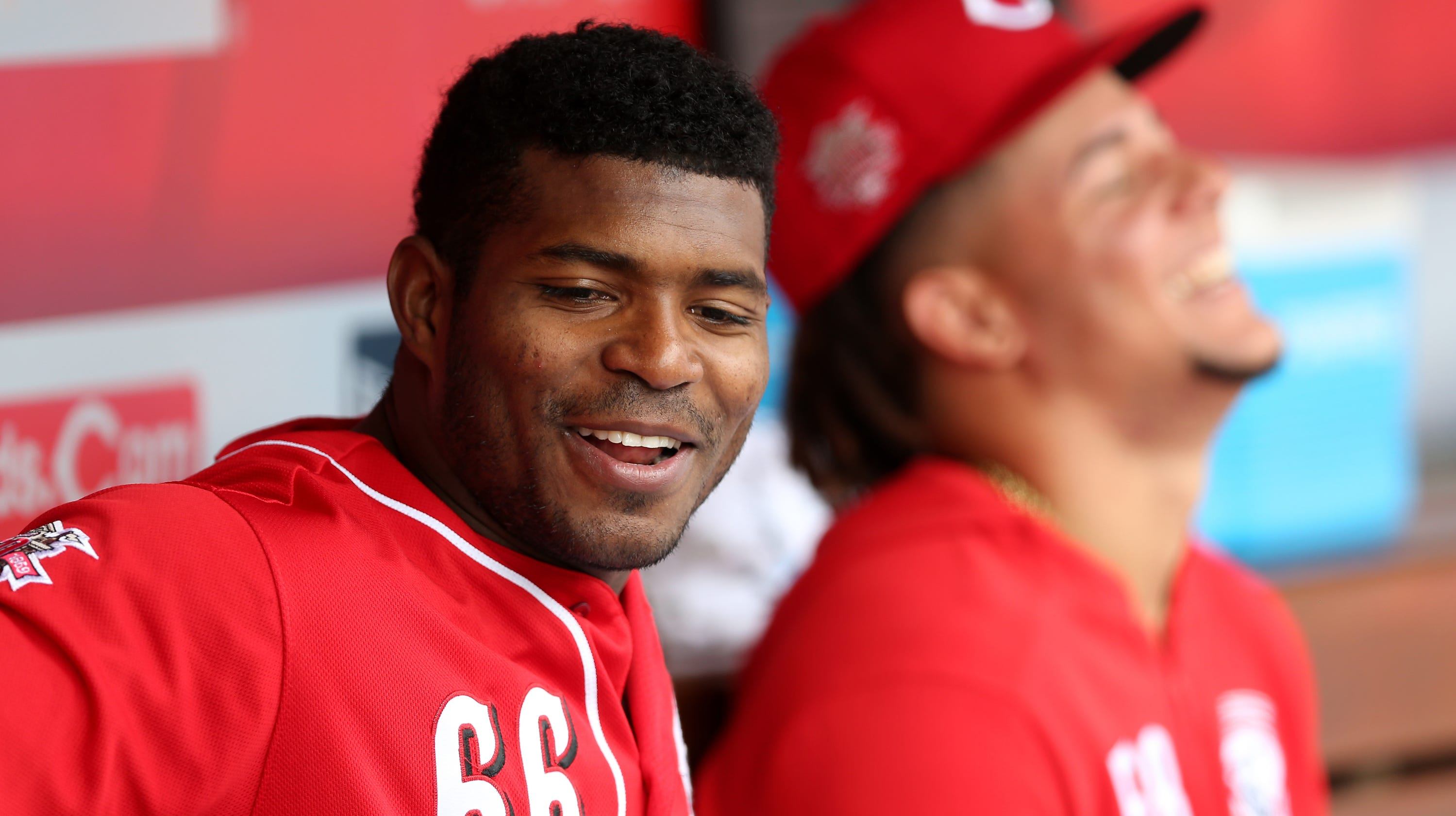45c997b8ebd  I m from Mexico   Cincinnati Reds  Yasiel Puig looks forward to his first  games in Mexico