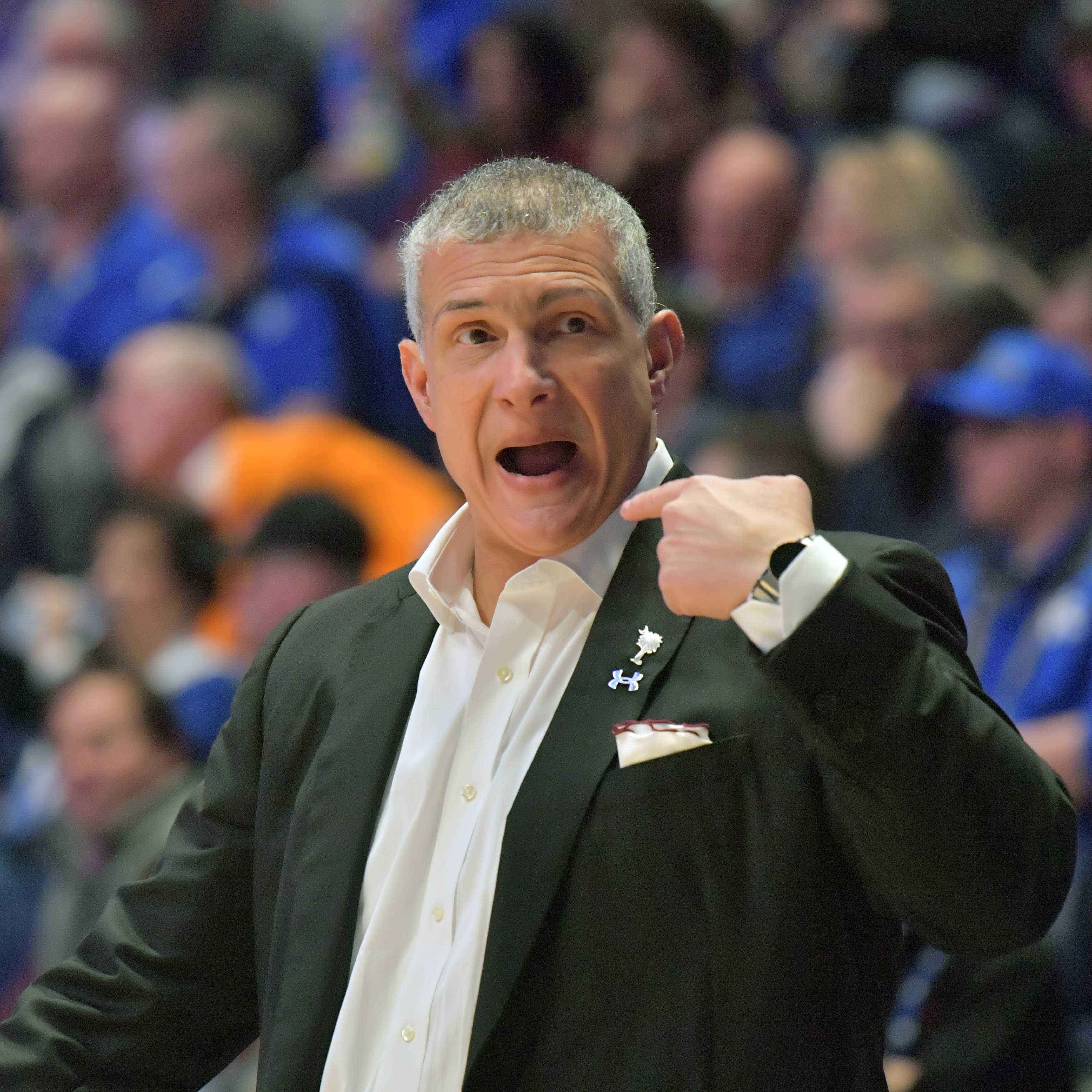 Report: South Carolina coach Frank Martin a 'key target' for Cincinnati basketball job