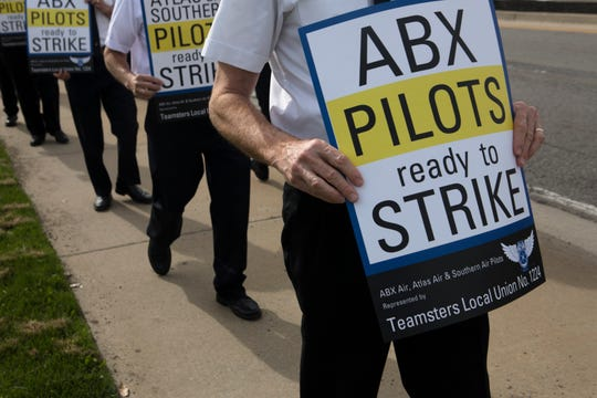 Pilots launch protest website amidst Amazon groundbreaking at CVG