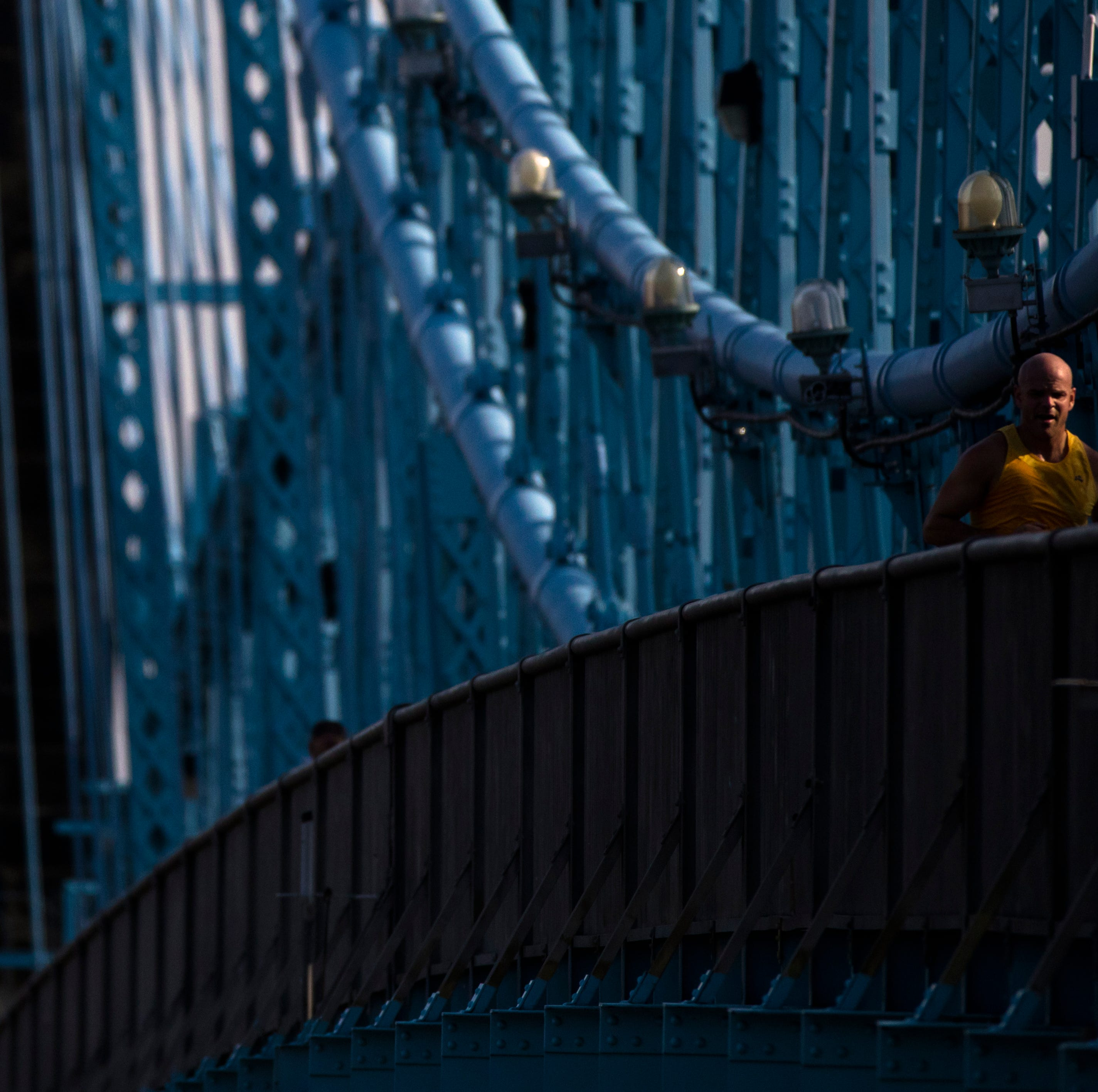 The John A. Roebling Bridge is not anywhere close to being reopened.