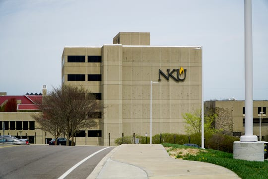 The campus of Northern Kentucky University, April 11, 2019.