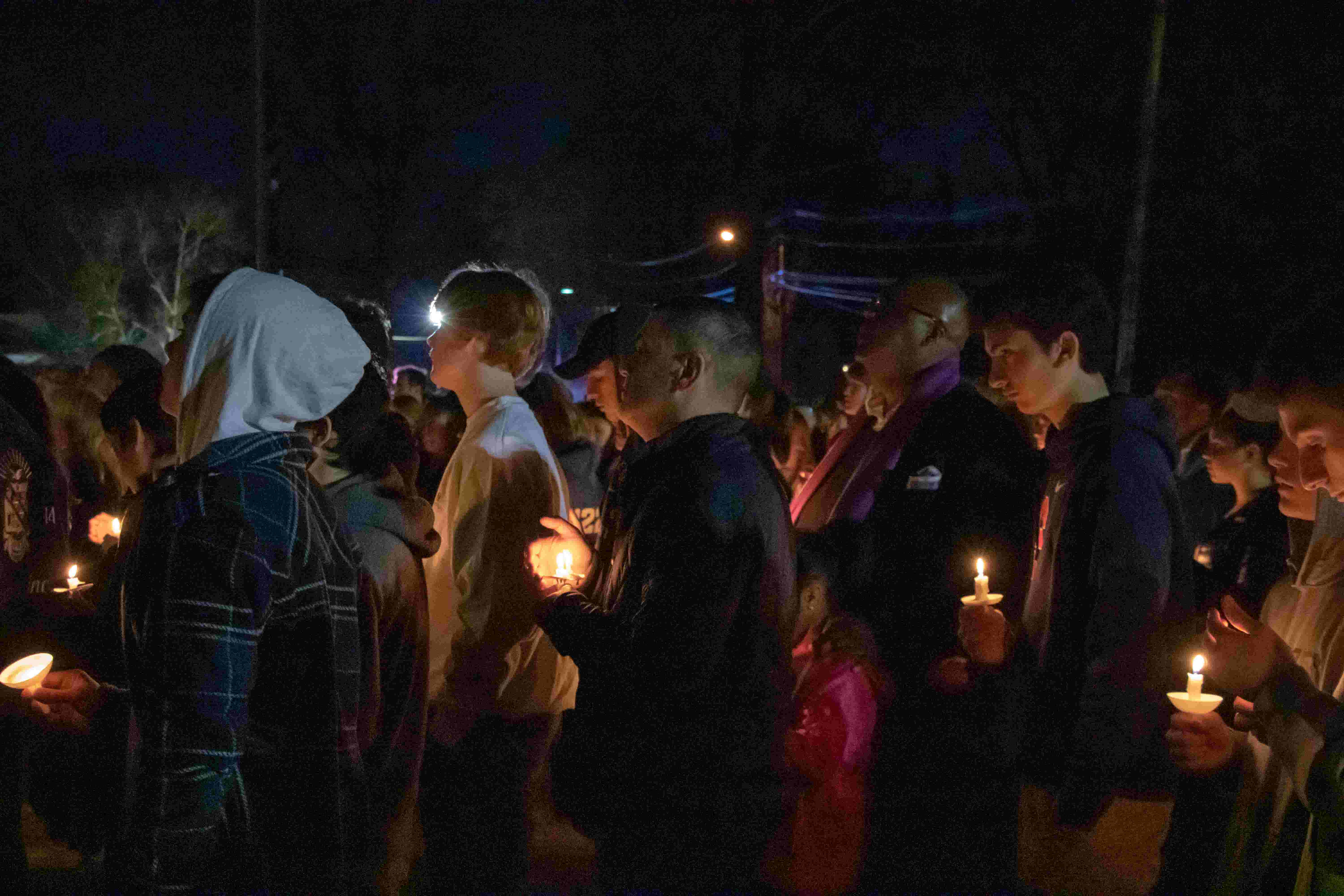 WATCH: Vigil held for Westfield principal who died after selfless act