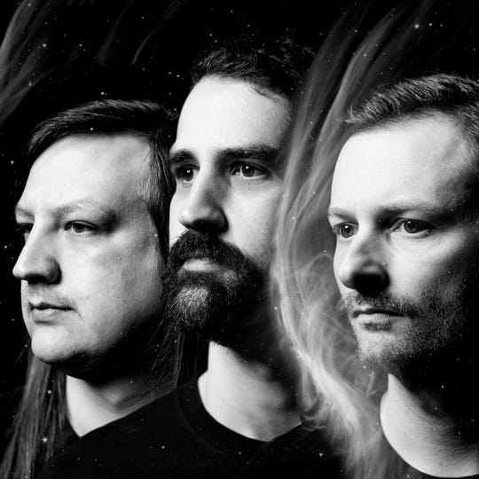 """Local psychedelic/stoner metal trio, Druids, are set to commemorate the release of their third full-length record, """"Monument,"""" by playing a hometown show at Wooly's on April 20."""
