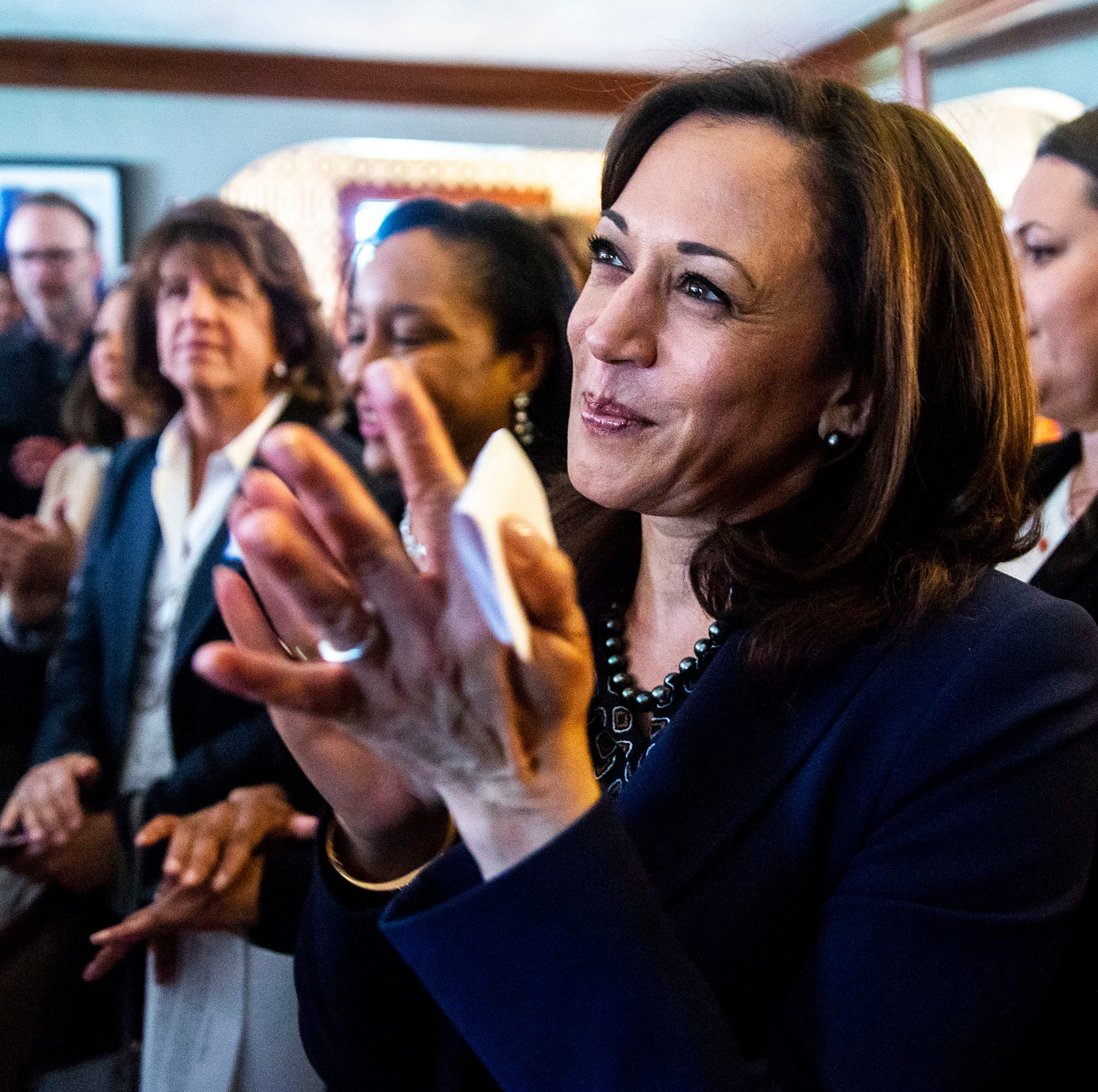 7 questions with Kamala Harris in Iowa