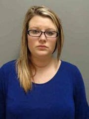 Noelle Cosby, 27, shown in her Lee County Jail mugshot.