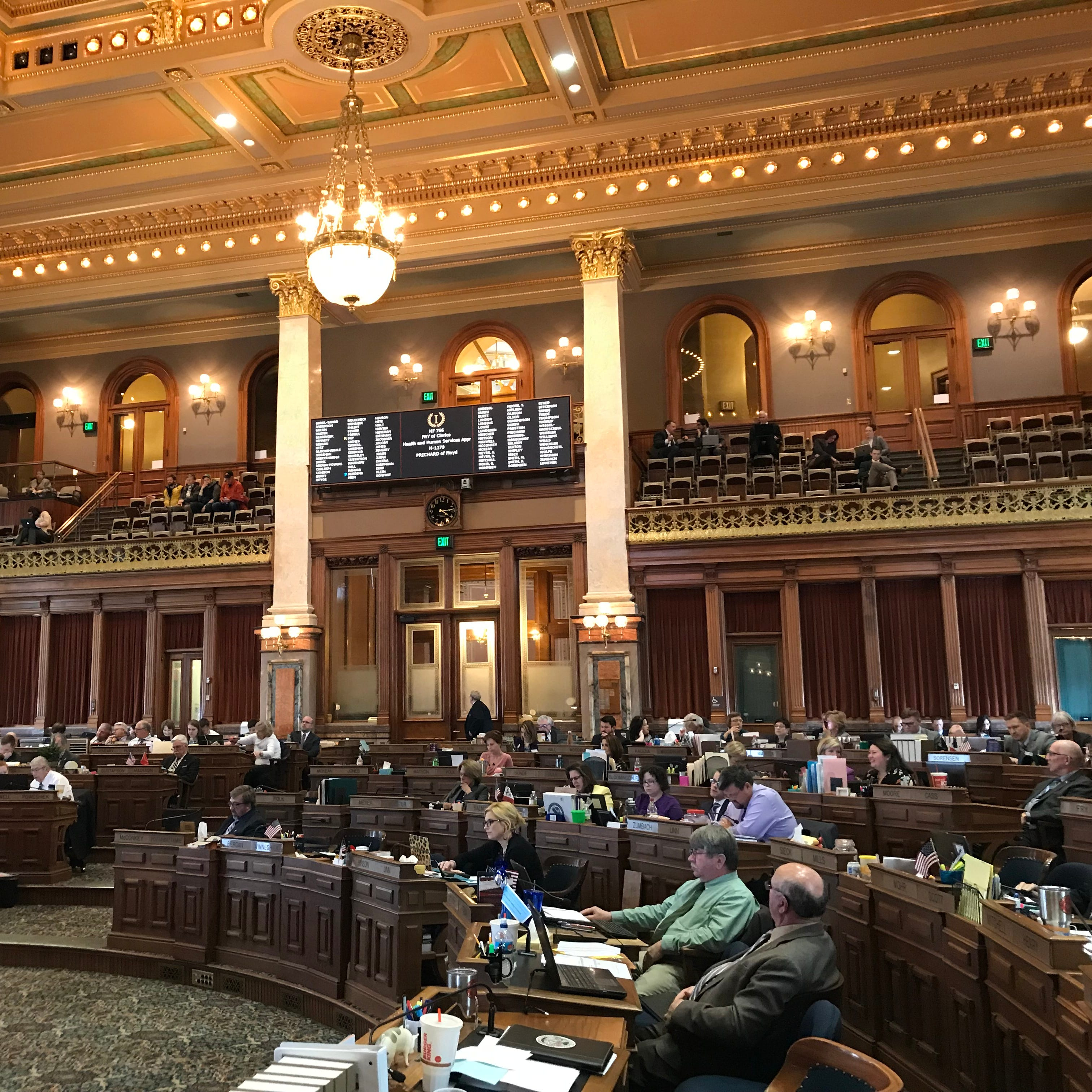 Iowa House votes to fund $150 million raise promised to Medicaid management firms