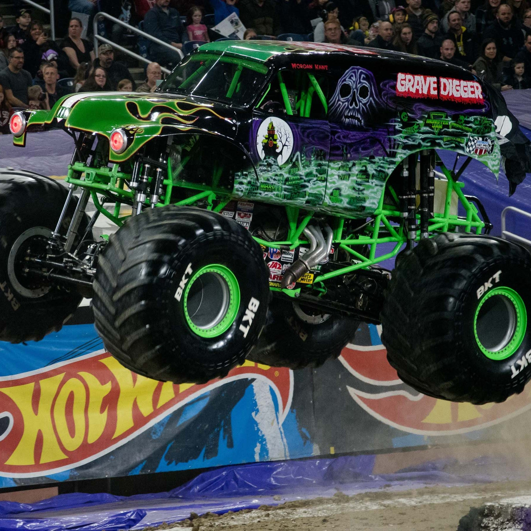 Cedar Point's newest thrill ride: Tearing it up in real Monster Jam trucks