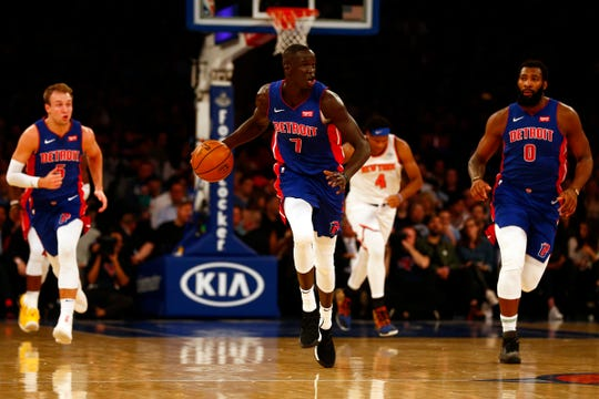 Thon Maker was traded from the Bucks to the Pistons during the season.