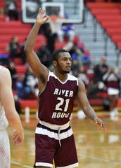 Nigel Colvin of River Rouge averaged 13.5 points and 5 rebounds this season.