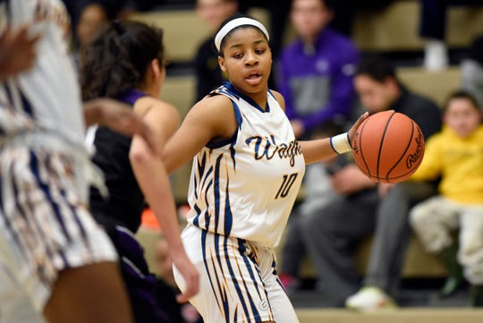 Wayne Memorial guard Jeanae Terry averaged20.4 points, 9.1 rebounds, and 7.8 assists this season.