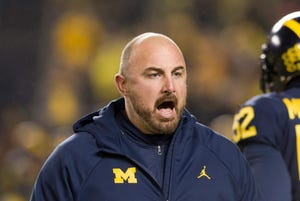 Back-to-back losses to close the season, plus the departures of coaches Greg Mattison and Al Washington to Ohio State, fuel Chris Partridge, Michigan's safeties and special-teams coach.