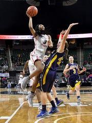 Detroit Edison Academy's Gabrielle Elliott averaged 17.4 points.