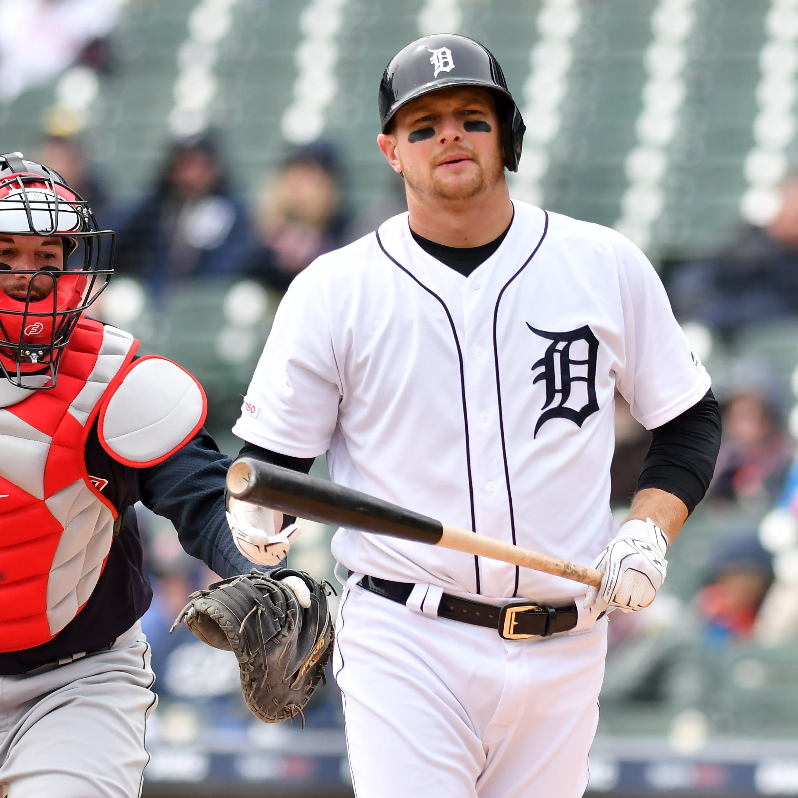 Tigers bats go quietly to Indians; Friday game postponed
