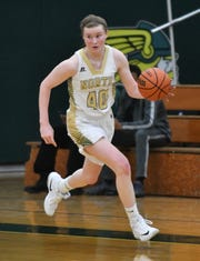 Michigan State-bound Julia Ayrault averaged 20 points, nine rebounds, 4.4 steals, four blocks and 3.4 assists this season for Grosse Pointe North.