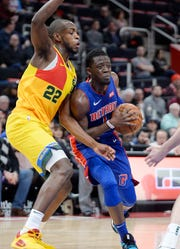 Reggie Jackson and the Pistons lost all four games this season to the Bucks.