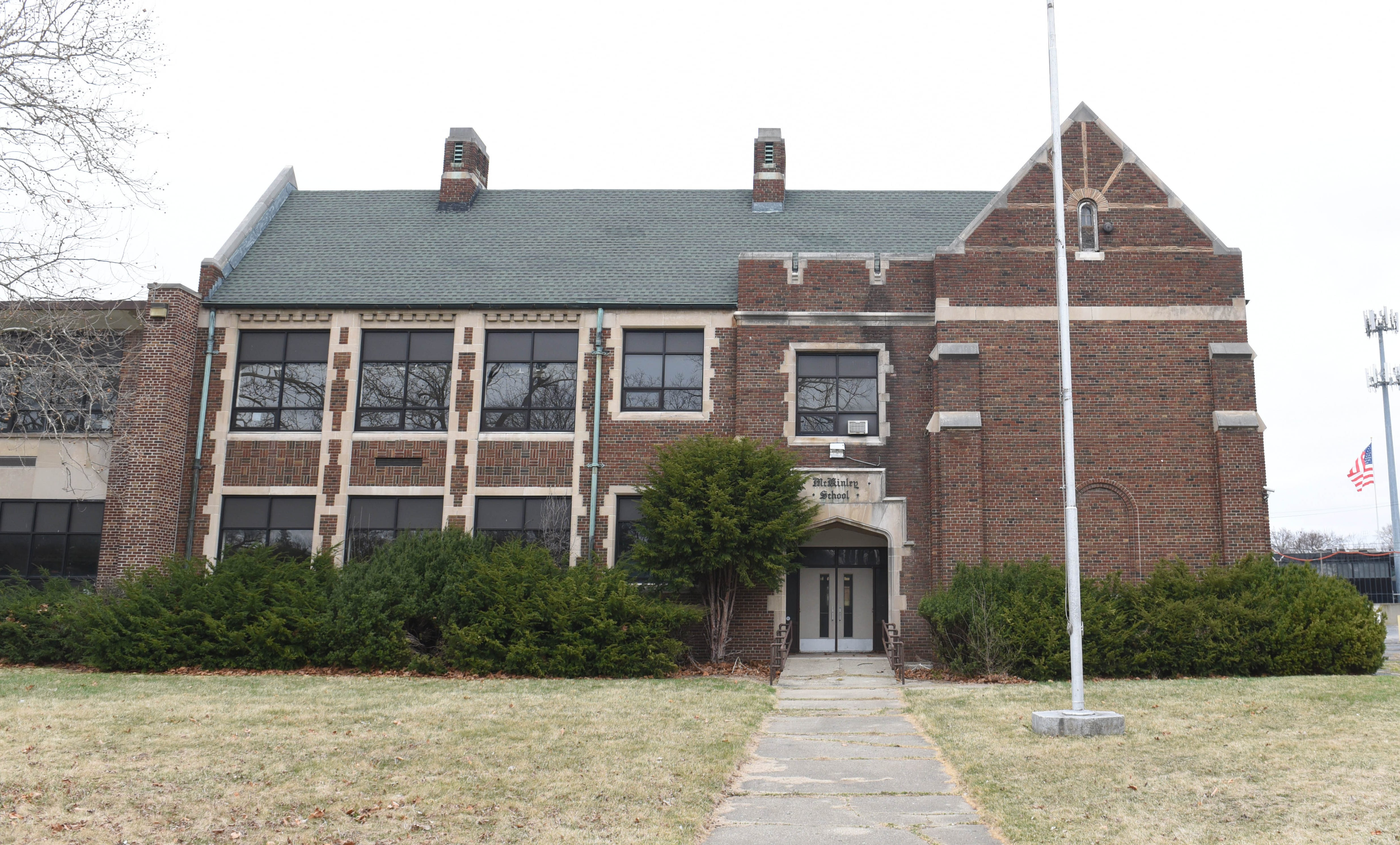The former Academy of Southfield campus now owned by the Southfield Nonprofit Housing Corporation includes this 1929 building, originally called the McKinley School.  The plan is to convert the campus to senior housing as part of a project expected to cost more than $21 million.