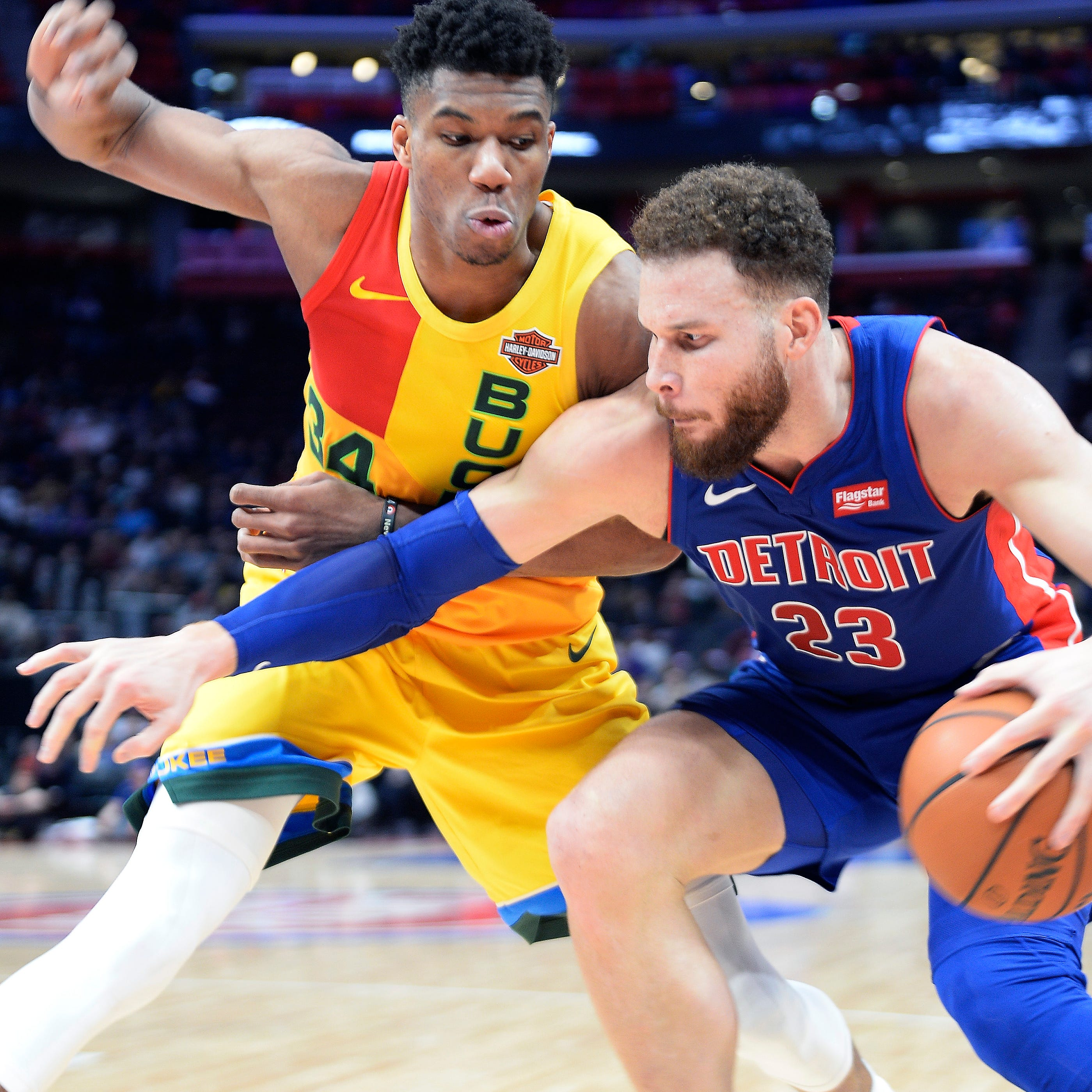 Pistons' task of facing Bucks gets tougher with Blake Griffin's uncertain status
