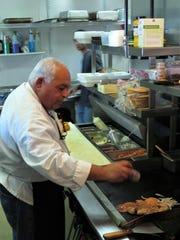 Raffi Manna of Raffi's Oasis Cafe.