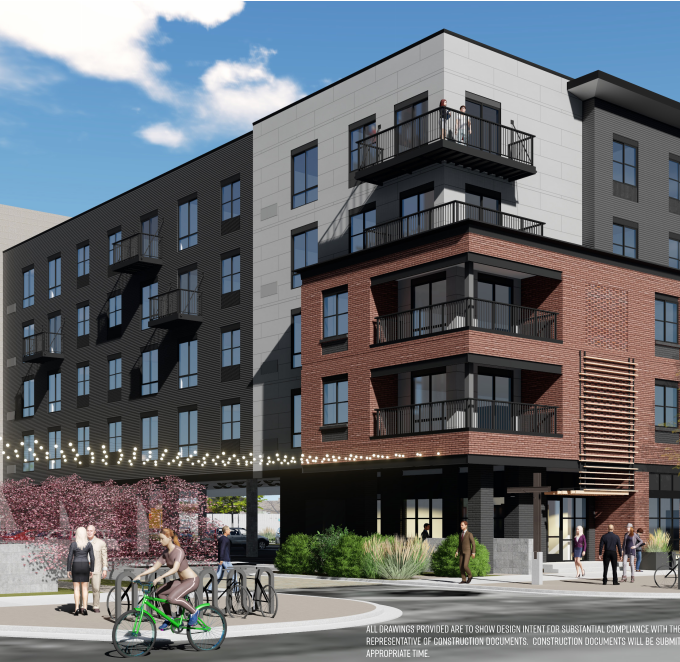 197 apartments set to transform blighted lot in downtown Fort Collins' River District