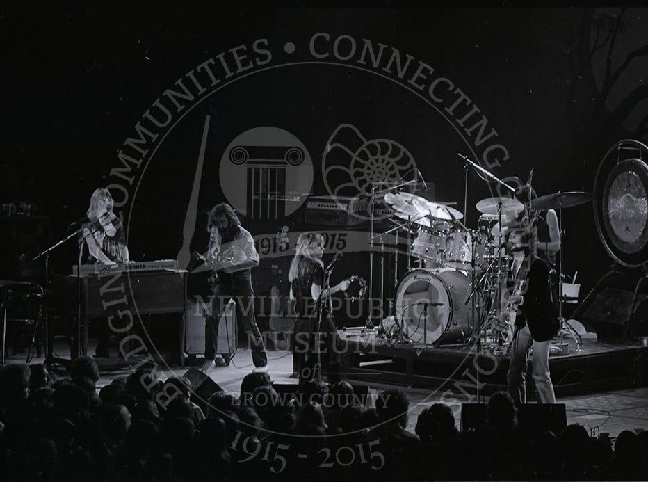 Fleetwood Mac at the Brown County Veterans Memorial Arena on Sept. 7, 1978.