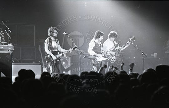Blue Oyster Cult at the Brown County Veterans Memorial Arena on Oct. 12, 1979.