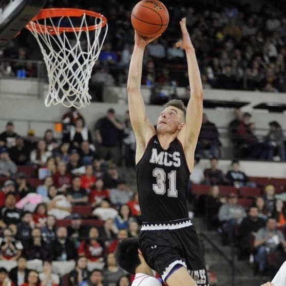 Caleb Bellach's Super-State selection? That's a slam dunk