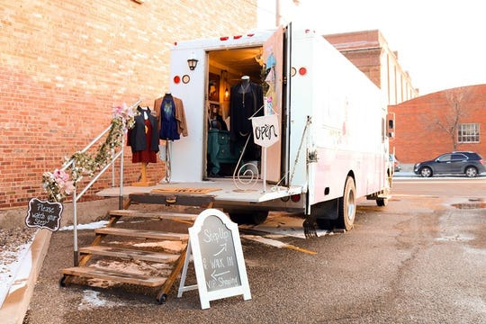 Serendipity caters to the target audience of their events by stocking the truck with what they believe will sell best of their collection.