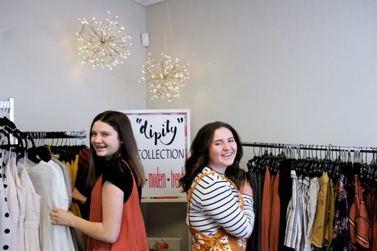 The best friend duo said working with each other makes work more enjoyable. They have created their own collection, Dipity.