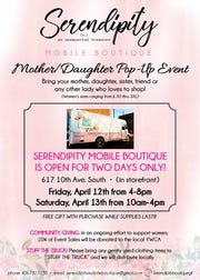 The boutique's next event is the other daughter pop-up at the storefront.