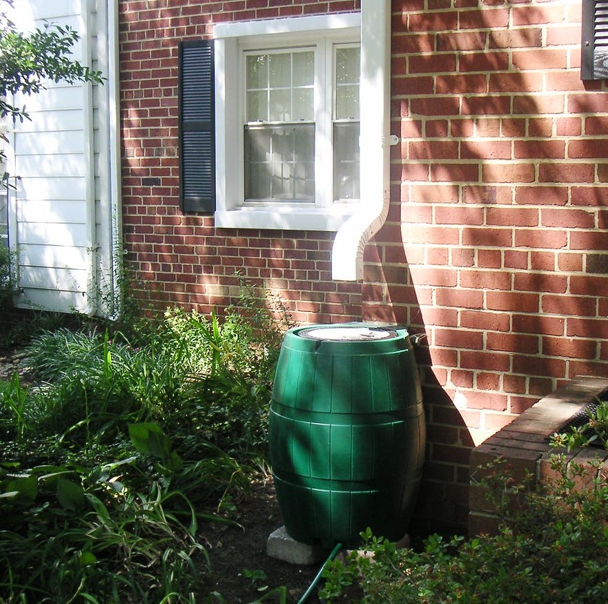 Rain barrels great for keeping that garden watered