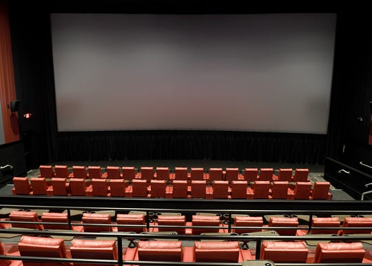 Empire 8's largest screen is the ETX, which offers 11.1 surround sound and love-seat style seating.