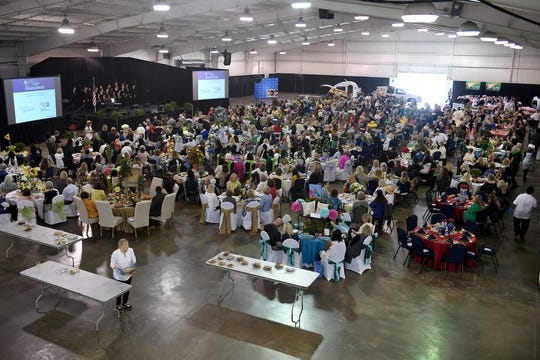 The 2019 First Ladies' Luncheon presented by the Women's Leadership Council of United Way of West Tennessee was held at Jackson Fairgrounds Park on Thursday, April 11.
