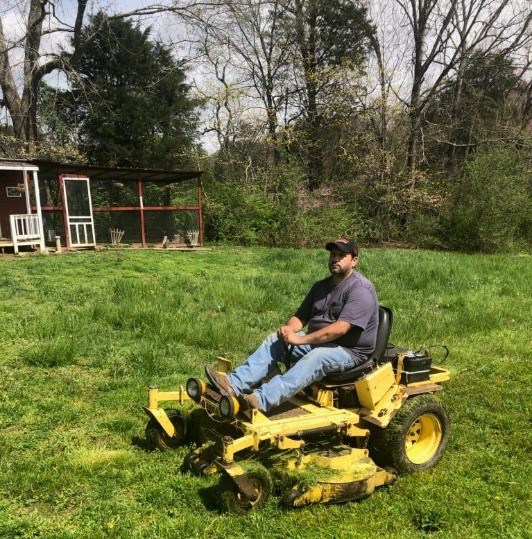 Shopper News blog: Grateful lawn man keeps promise to pass it on
