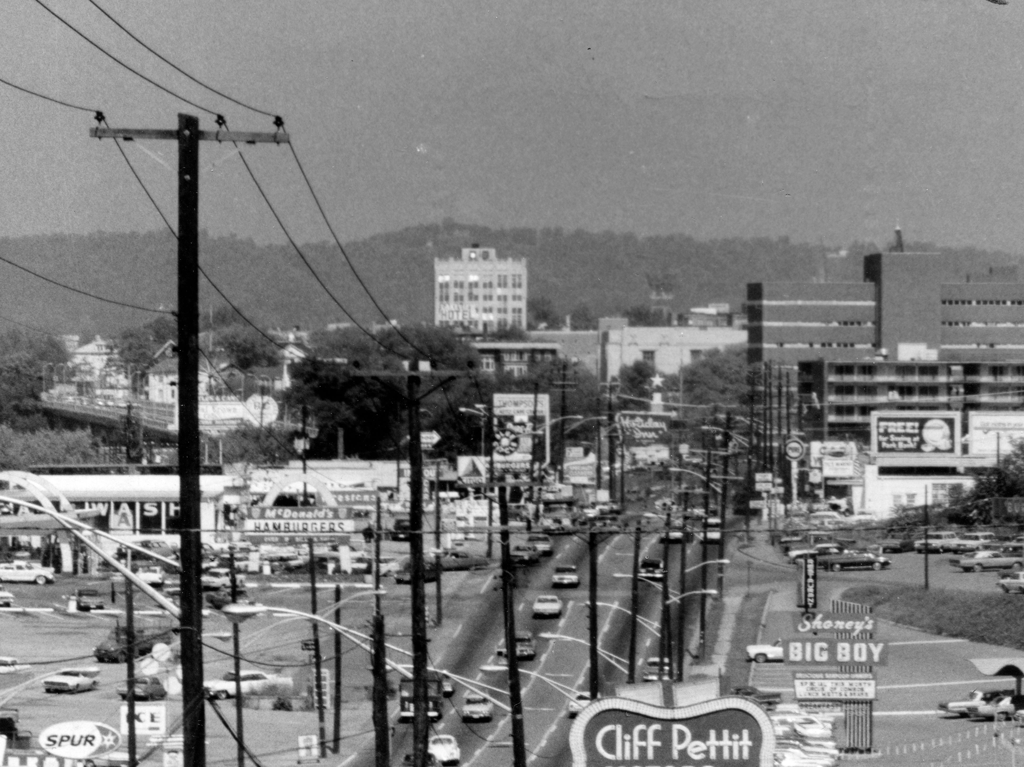 Chapman Highway in 1969.