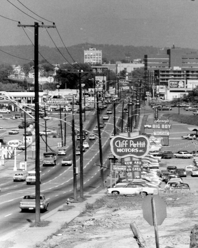 Chapman Highway in 1969.