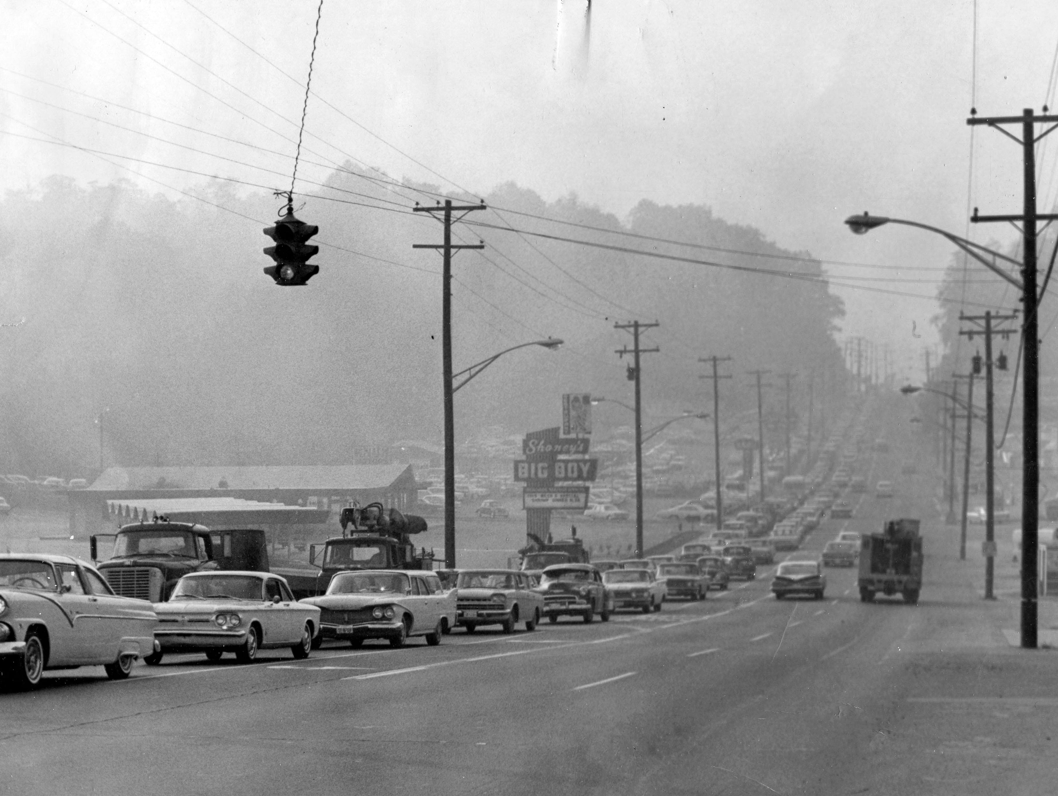 Chapman Highway in 1965.