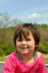 Kylie Grace Overton died of brain cancer five days before her sixth birthday.