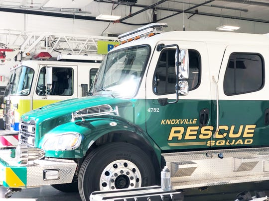 The new Rural Metro Station 36 in Halls is the largest to date in Knox County and also houses a Knoxville Rescue Squad unit in one of the four bays.