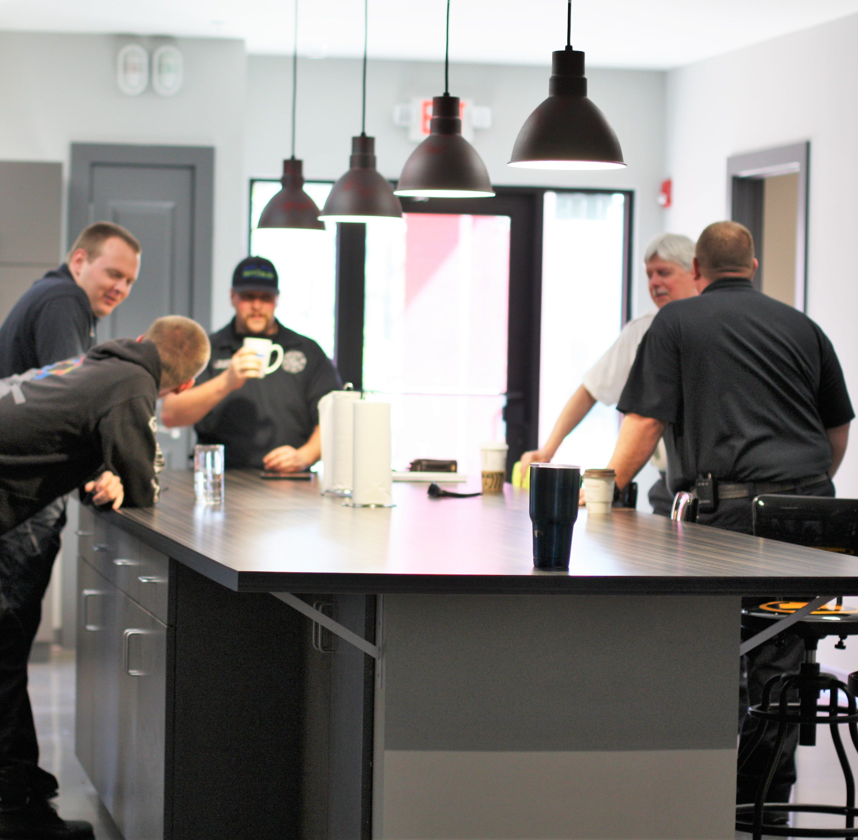 Shopper News blog: New Emory Road fire station fits 'the way firefighters work'