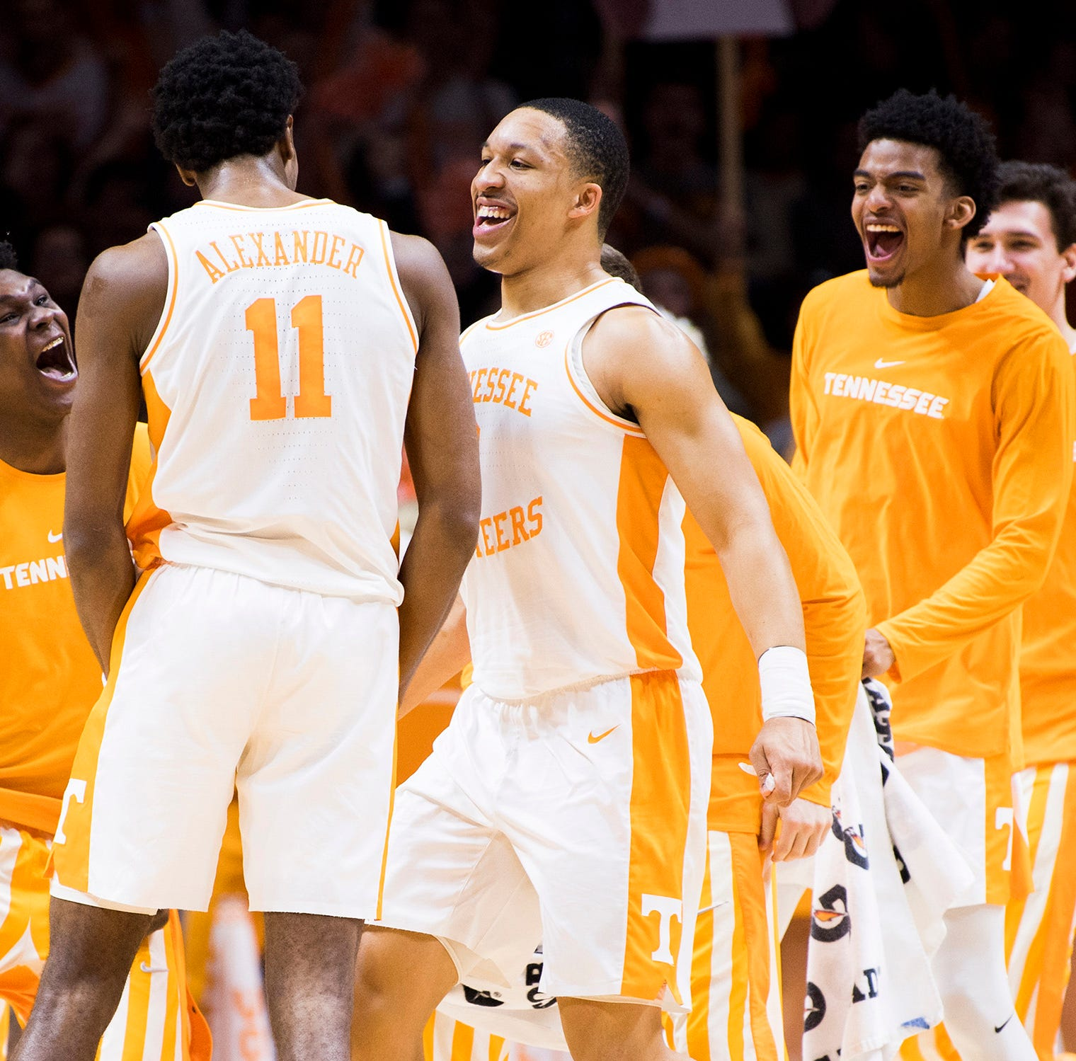 Grant Williams says farewell to Tennessee basketball on social media