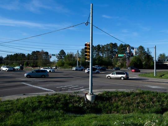 Where Hardin Valley Rd. and Pellissippi Parkway meet is one of busiest intersections in Hardin Valley.