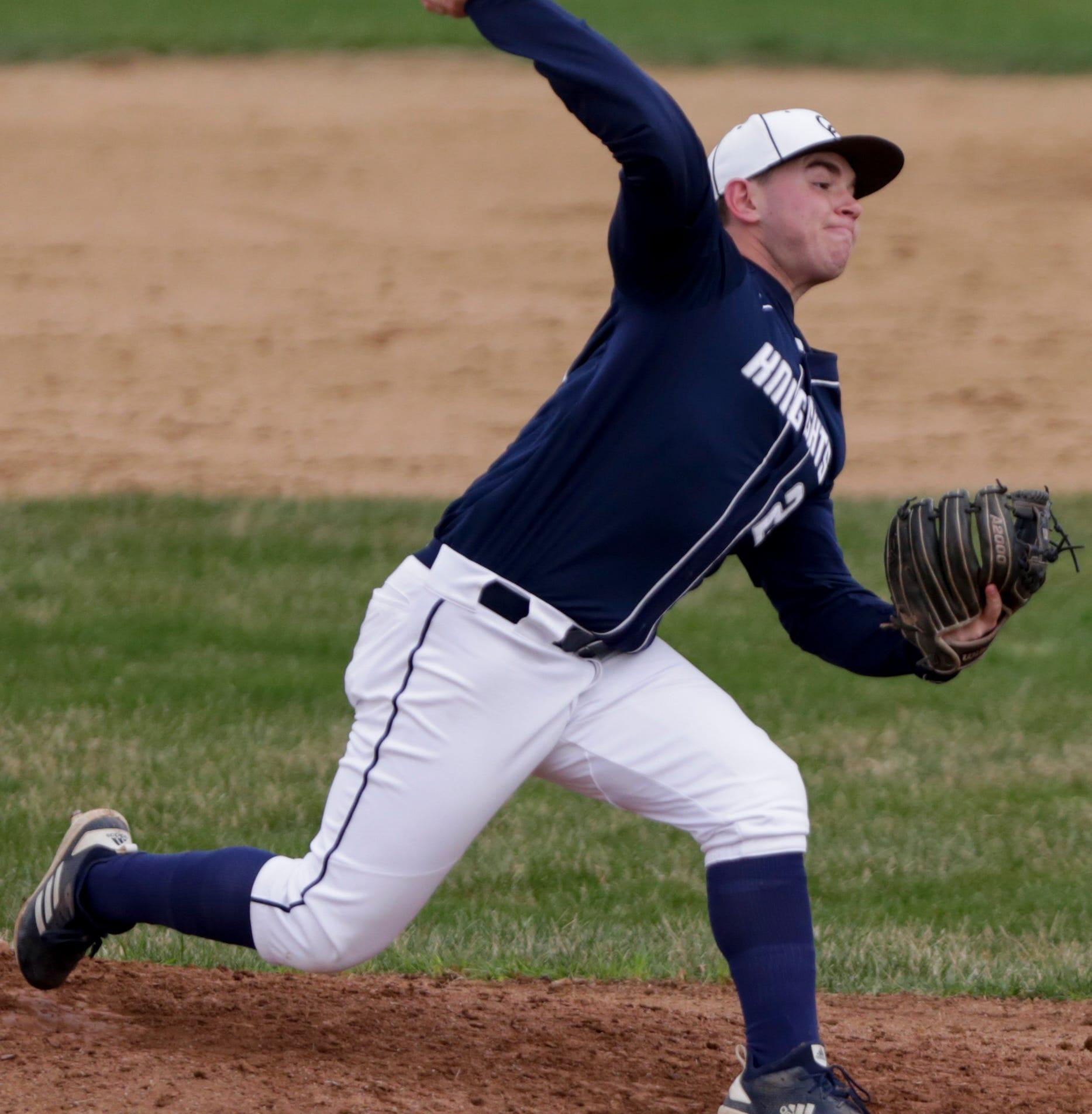 Central Catholic's Adam Dienhart embraces pitching under pressure