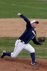 Central Catholic's Adam Dienhart struck out nine in a 4-1 victory over Benton Central on Wednesday.