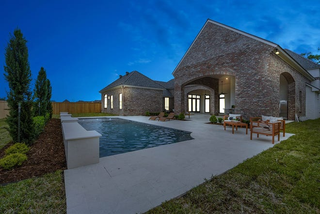 This 5 BR, 4.3 BA home has 5,010 sq ft of living area and is listed for sale at $1,399,000.