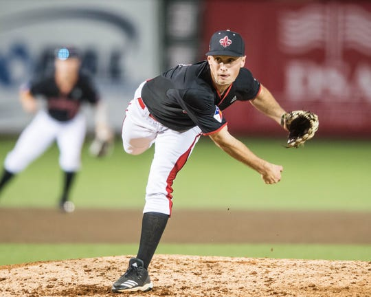 Freshman Connor Cooke started his relief work by retiring 10 batters in a row during UL's 6-3 loss to McNeese on Wednesday night.