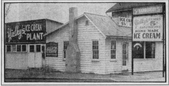 Yielky's restaurant and ice cream plant opened at 1104 E. Main Street on May 19, 1939. It was his fourth business location in Lancaster. This photo appeared in the E-G on Dec. 9, 1939.