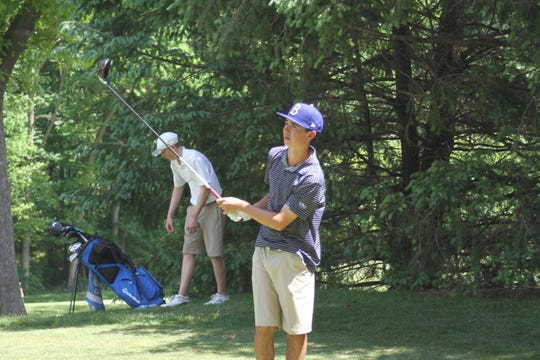 Hartland's Bryce Brief averaged 80.1 for 18 holes last year.