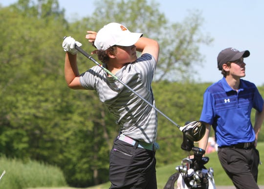 Brighton's Davis Codd qualified for the state golf tournament as a freshman last year.